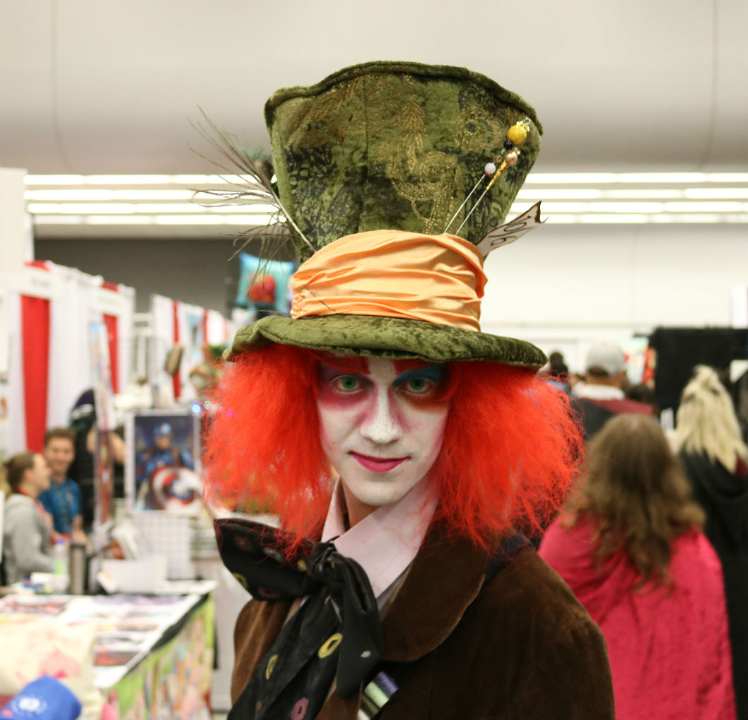 Comiccon Mad Hatter, costumes