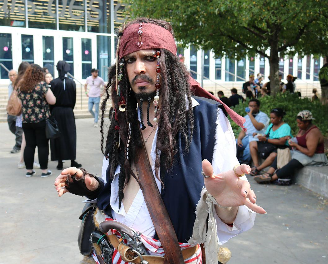 Comiccon - Pirates
