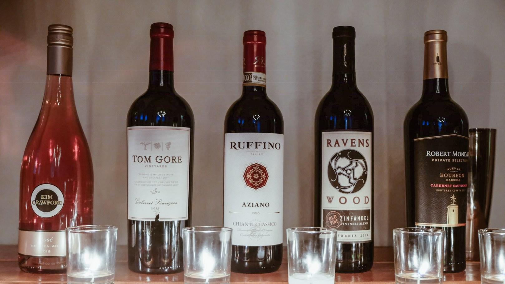 Photo vins Tom Gore pour Ruffino pour Ravenswood