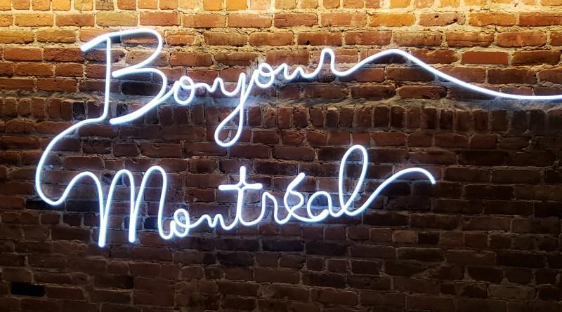 bonjour-montreal nespresso boutique photo Passion MTL mur de brique