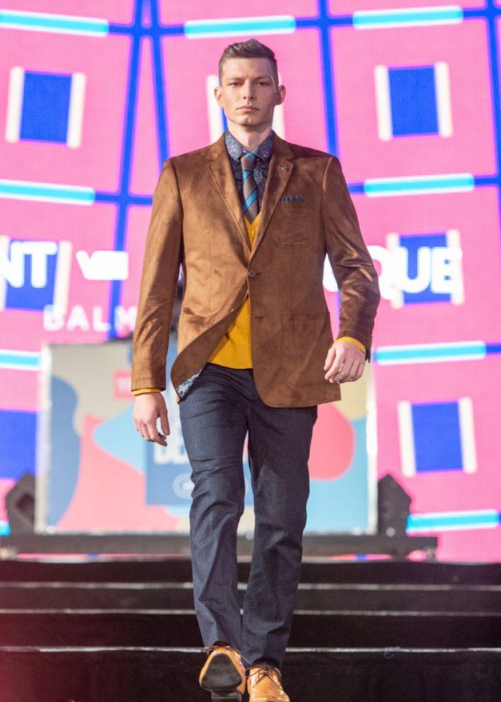 Vêtements pour homme - défilé Mode Montréal