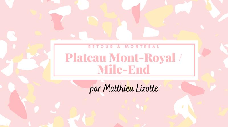 Matthieu Lizotte Retour a Montreal