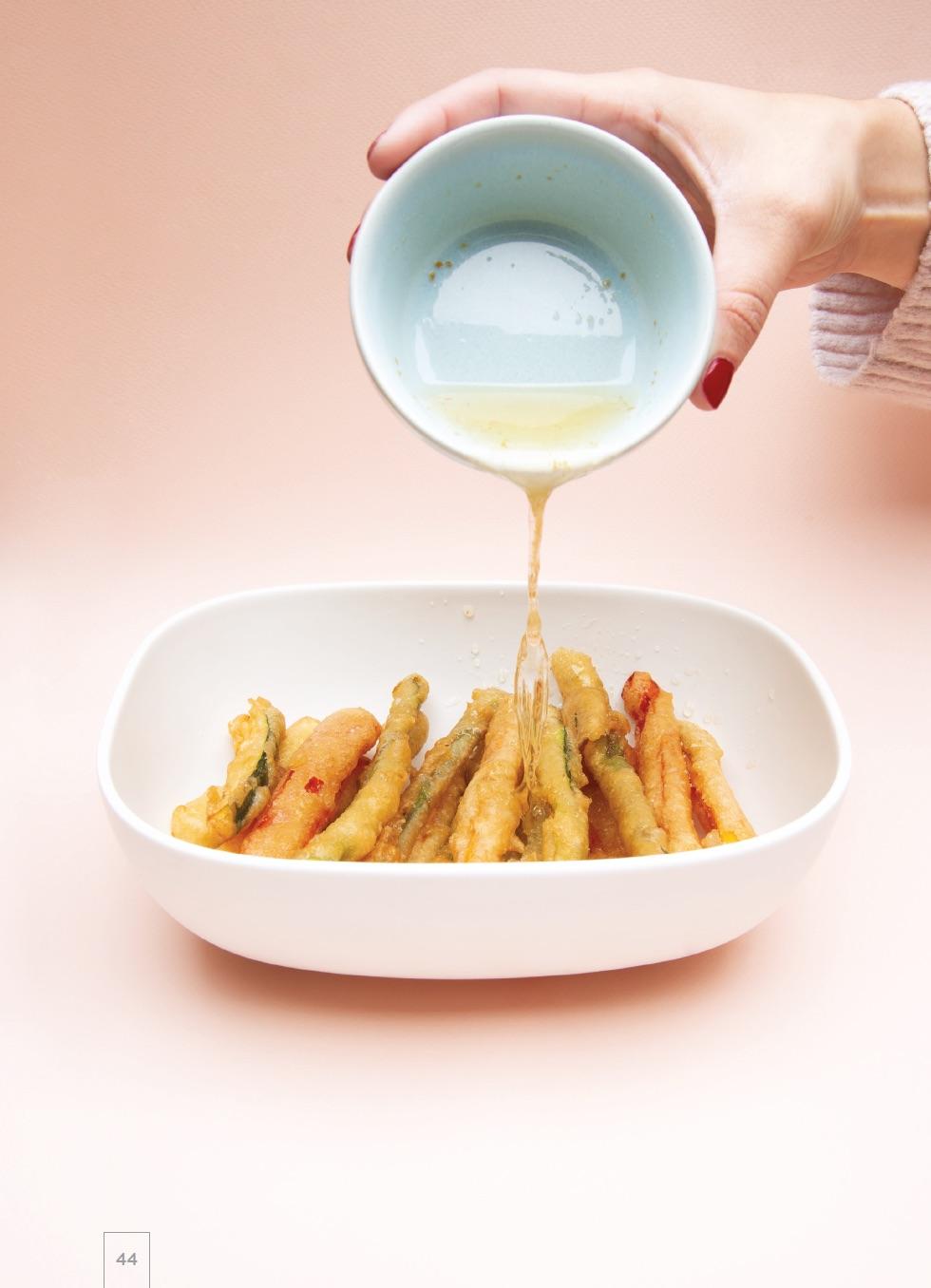 recettes de sushis vege legumes tempura
