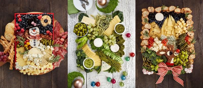 Planches de fromages festives