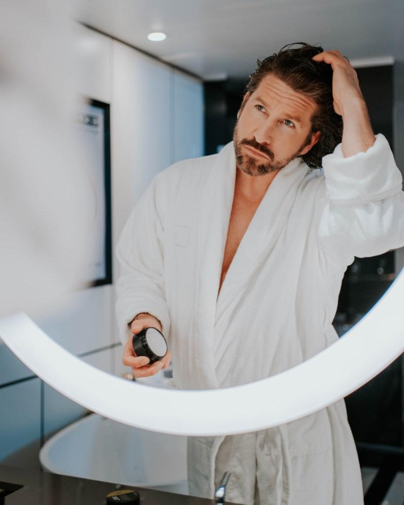 Jonas Tomalty bathroom bathrobe mirror