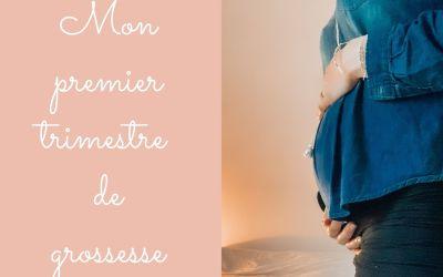 Mon premier trimestre de grossesse (3e grossesse)