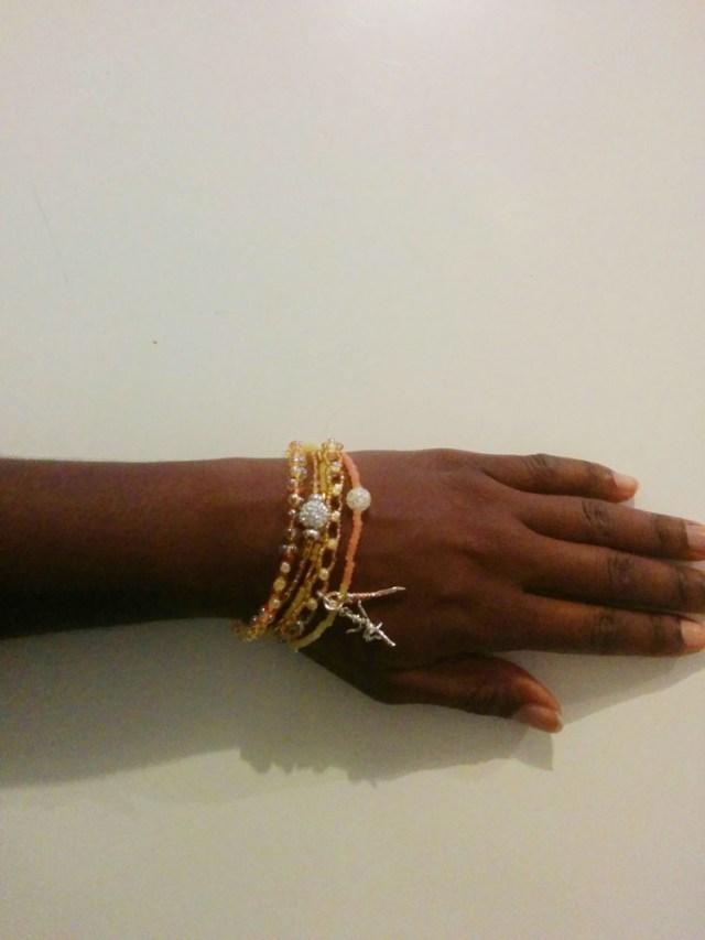 DIY mon bracelet hipanema porté