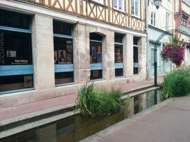 Cours d'eau de la Rue Eau de Robec