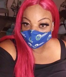 Dallas Maverick Face Mask
