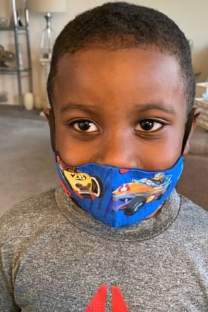 High Speed Adventure Kids Face Mask