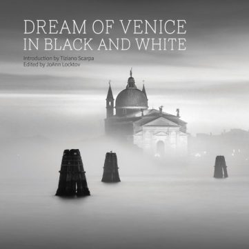 "The cover of ""Dream of Venice in Black and White"""