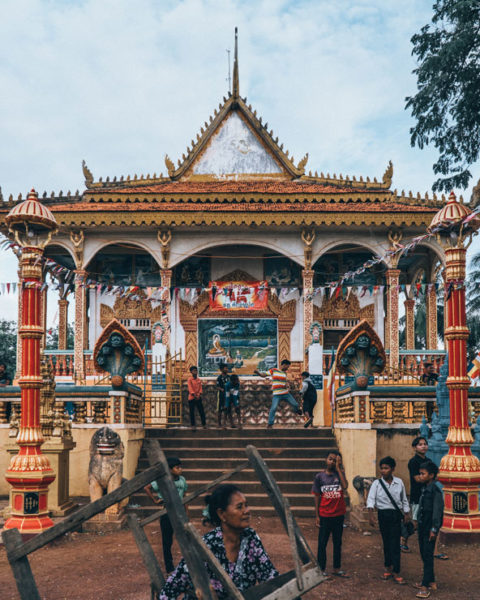 A photo by Jack Crosby of a temple in Cambodia