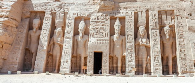 Carved colossi of Abu Simbel in our Instagrammer's Guide to Egypt