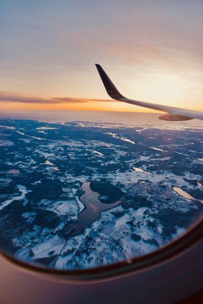 plane window