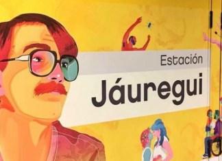 mural of argentine LGBTQ activist Carlos Jauregui