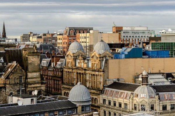 Glasgow from above: underrated cities in the UK.