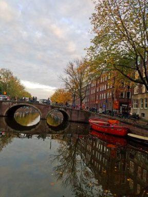 bridge water reflection
