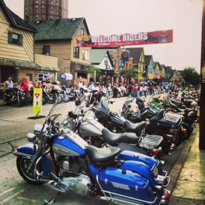 Harley Davidson Festival on Brady Street, Milwaukee, Wisconsin