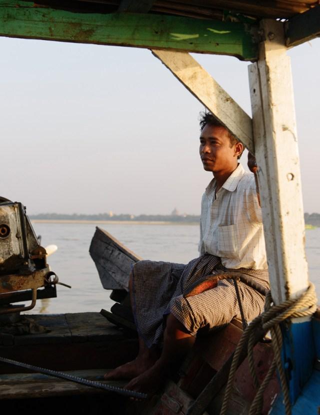 Irrawaddy River, Myanmar