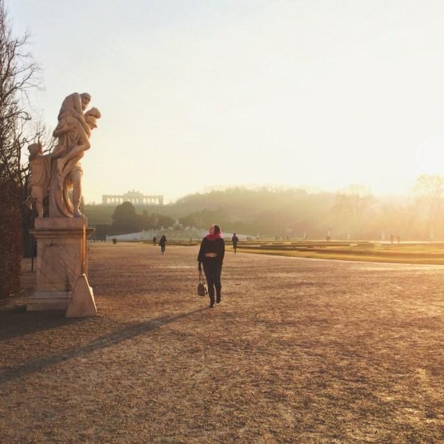 Schonbrunn Gardens and Gloriette