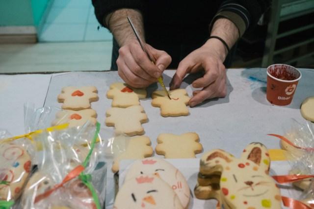 Baking cookies at Demasie in Barcelona