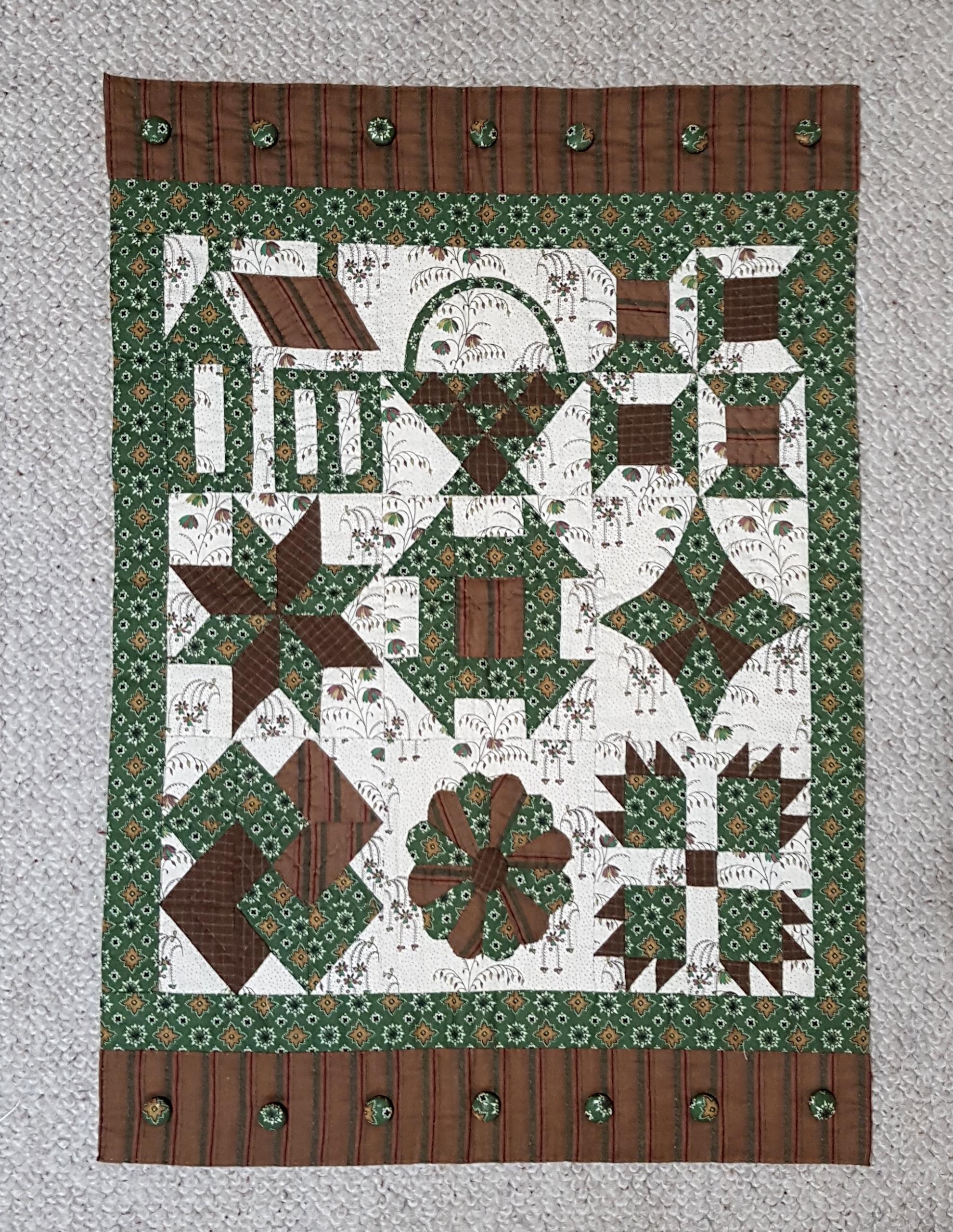 sampler passion patchwork