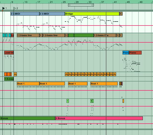 Session ของเพลงยามเย็น 8 Bits หน้าตาประมาณนี้