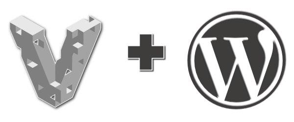 Vagrant and WordPress Icons.