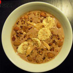 Choco-peanut smoothie