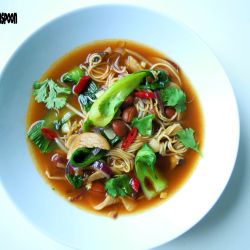 Soul warming mushroom soup