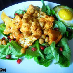 Spicy cauliflower salad