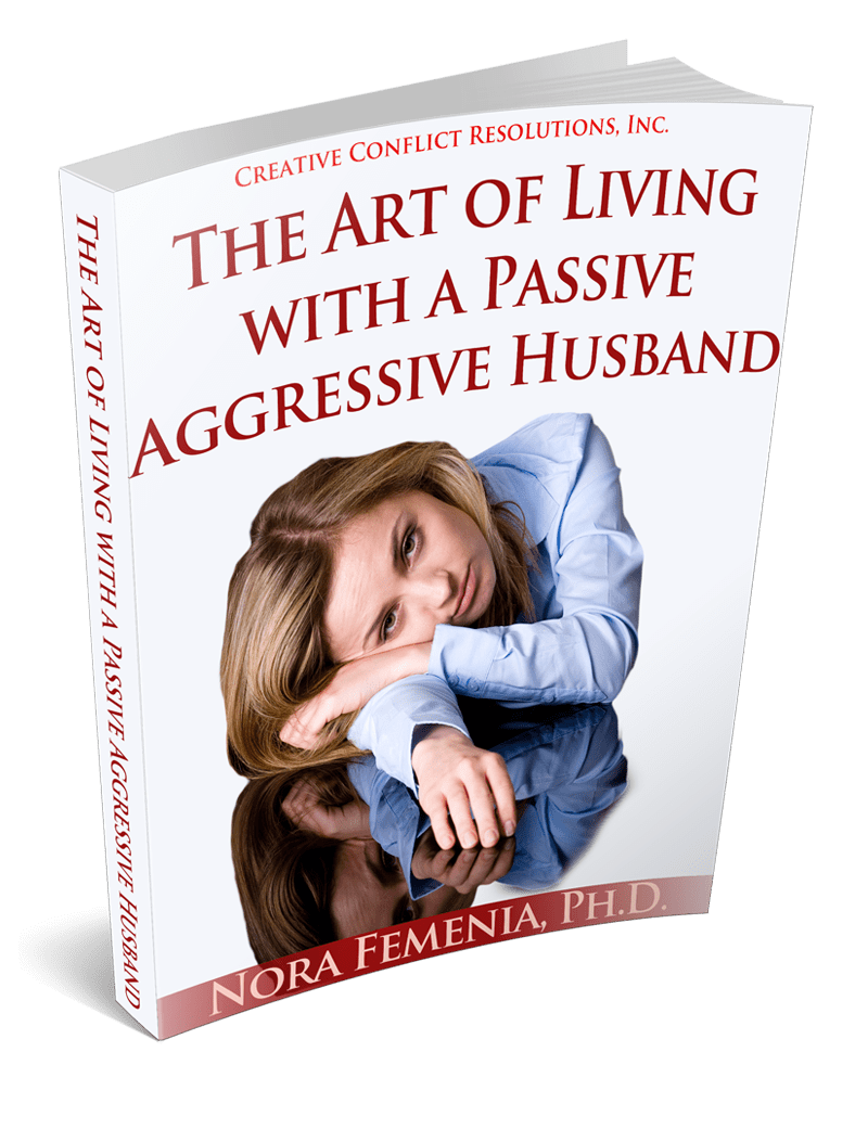 How to live with passive aggressive husband