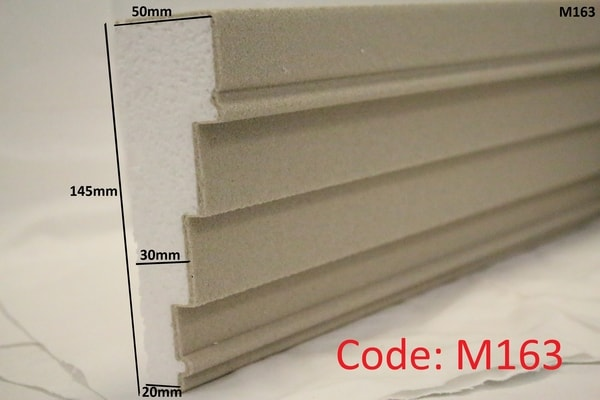 145mm x 150mm Stepped Reveal in Sandstone