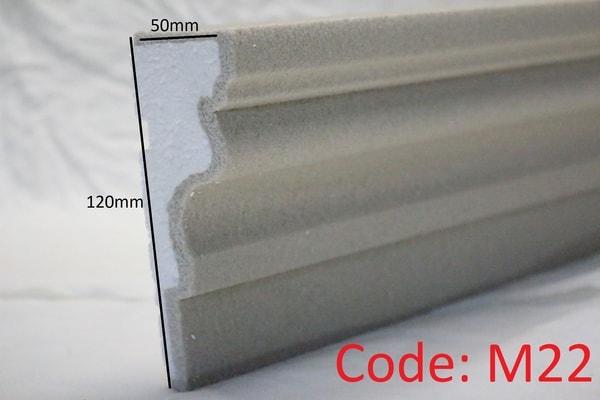 120mm x 50mm Reveal in sandstone