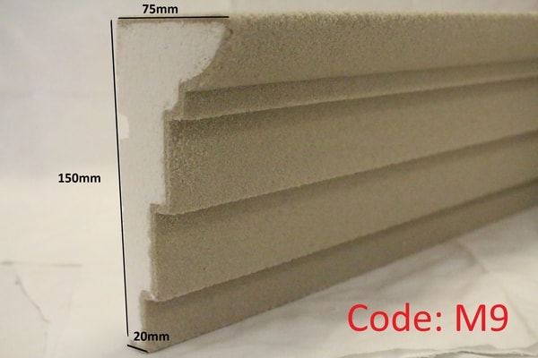 150mm x 75mm Stepped Reveal in sandstone