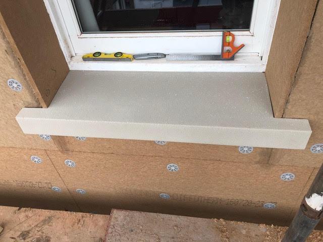 Oversill Installation