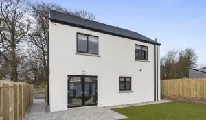 Gleann Elagh - rear of house