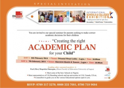 SPECIAL INVITATION FROM EDUMARK This Is A MustAttend Seminar For
