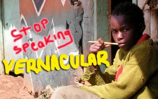 Stop-speaking-Vernacular-in-class-
