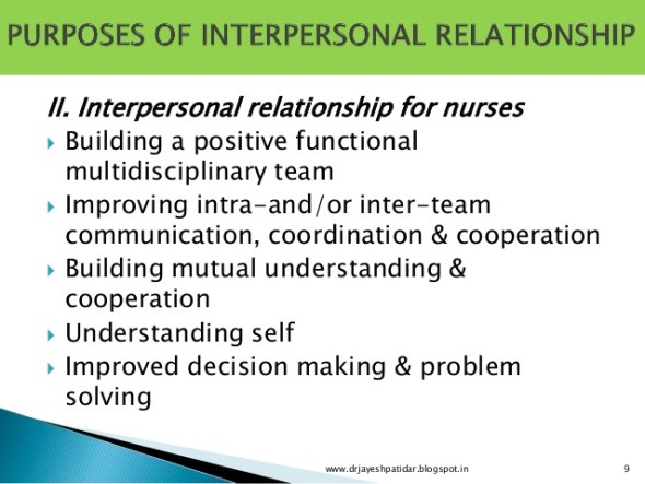 SS2 Civic Education Third Term: Importance of Interpersonal