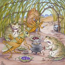The Grasshopper And The Toad.
