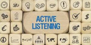 TIPS TO IMPROVE ACTIVE LISTENING SKILLS