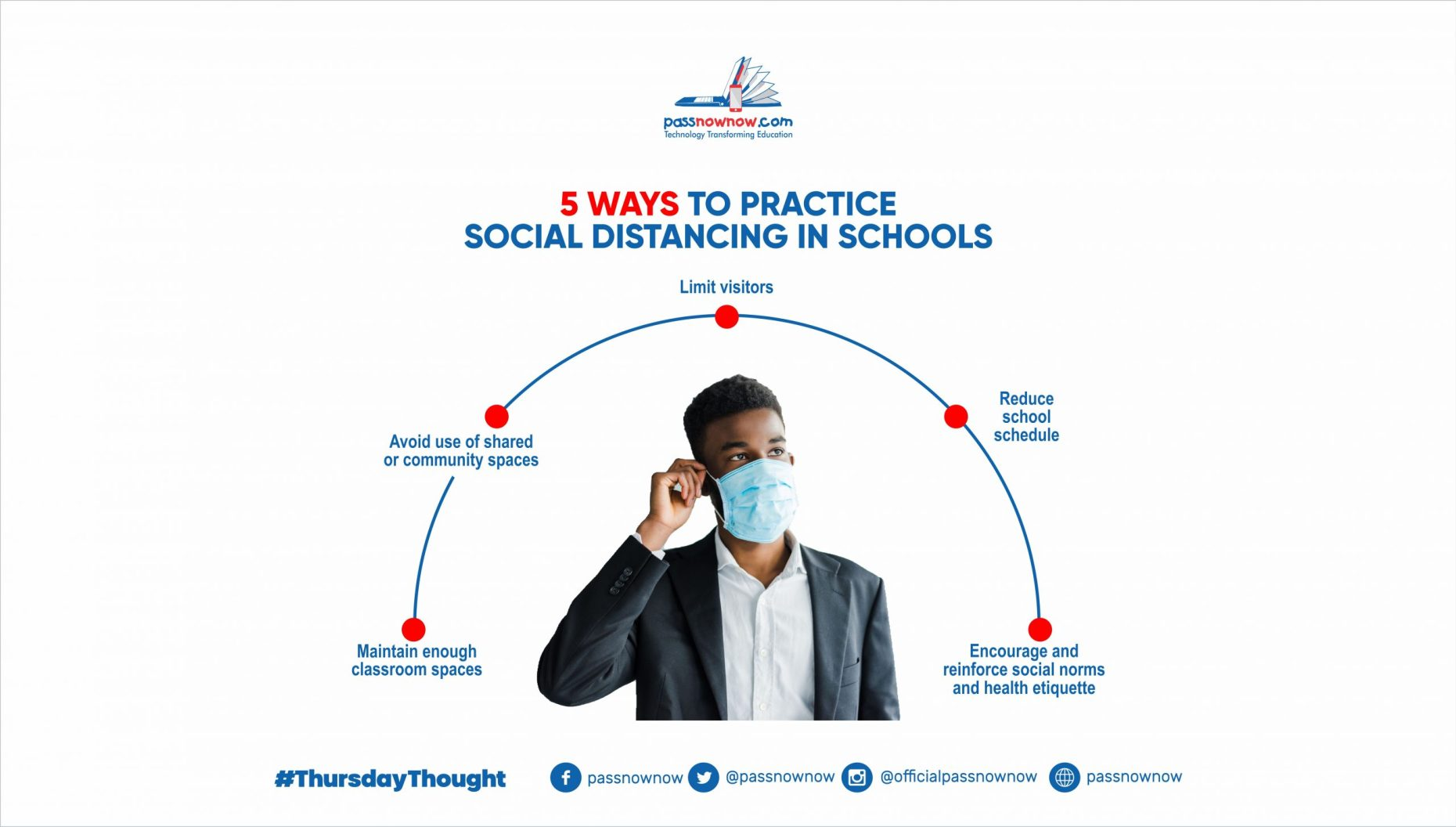 5 ways to Practice Social Distancing in Classrooms