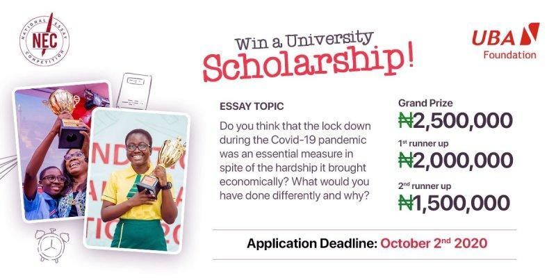 UBA foundation essay contest