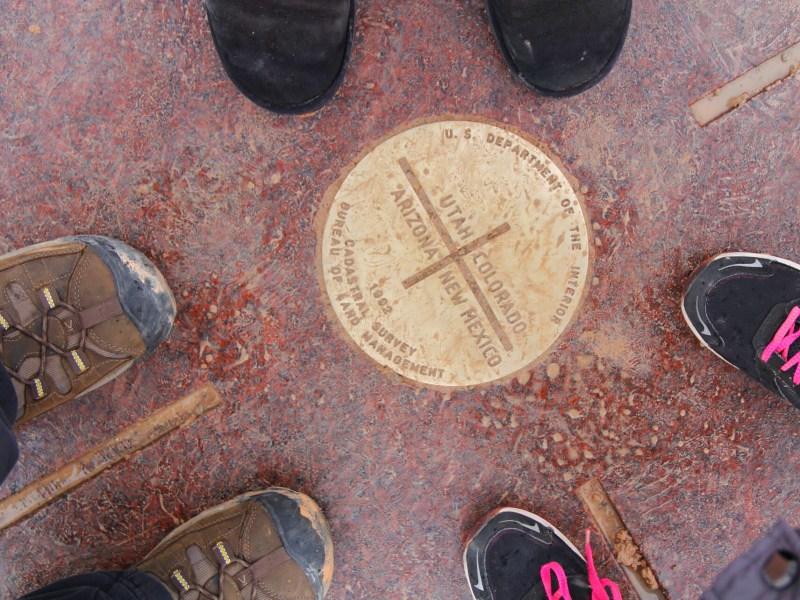 Southwest road trip - Four Corners Monument