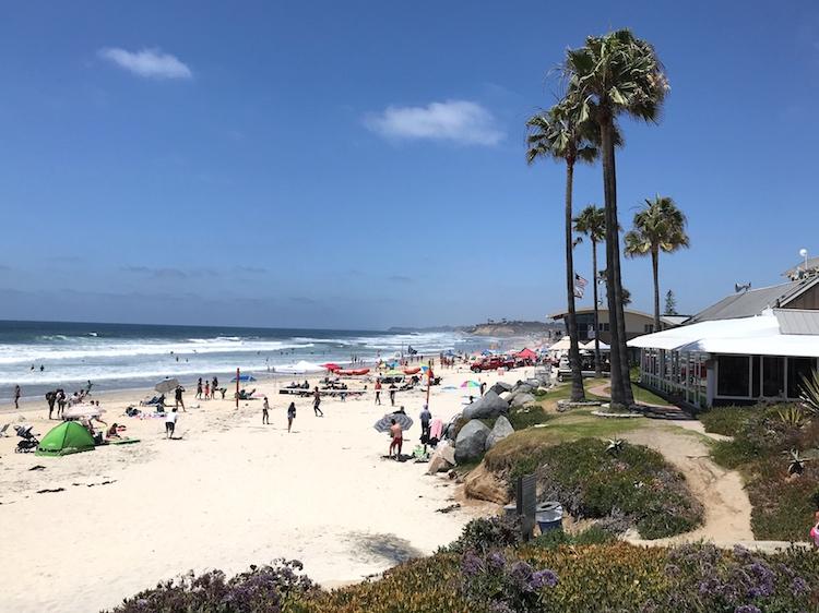 San Diego Del Mar Beach