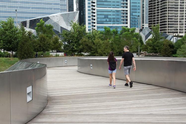 BP Pedestrian Bridge in Chicago