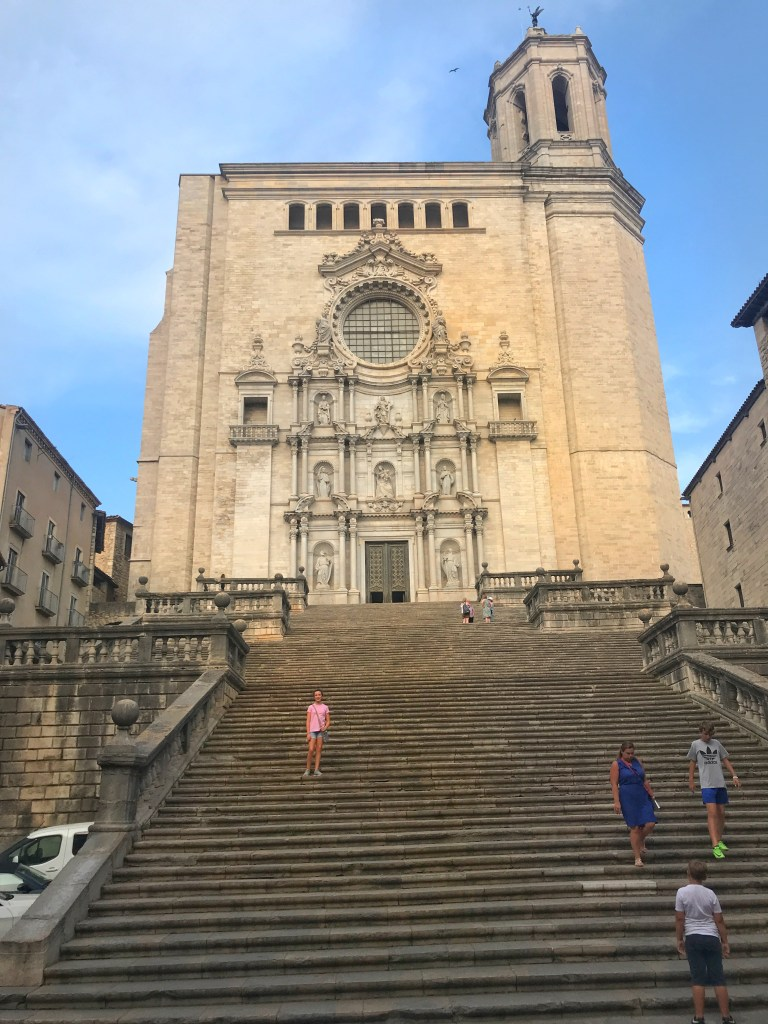 Beautiful places near Barcelona: Girona Cathedral