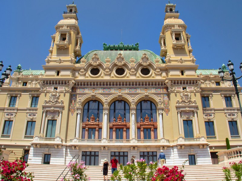 best towns in south of france Opera de Monte Carlo