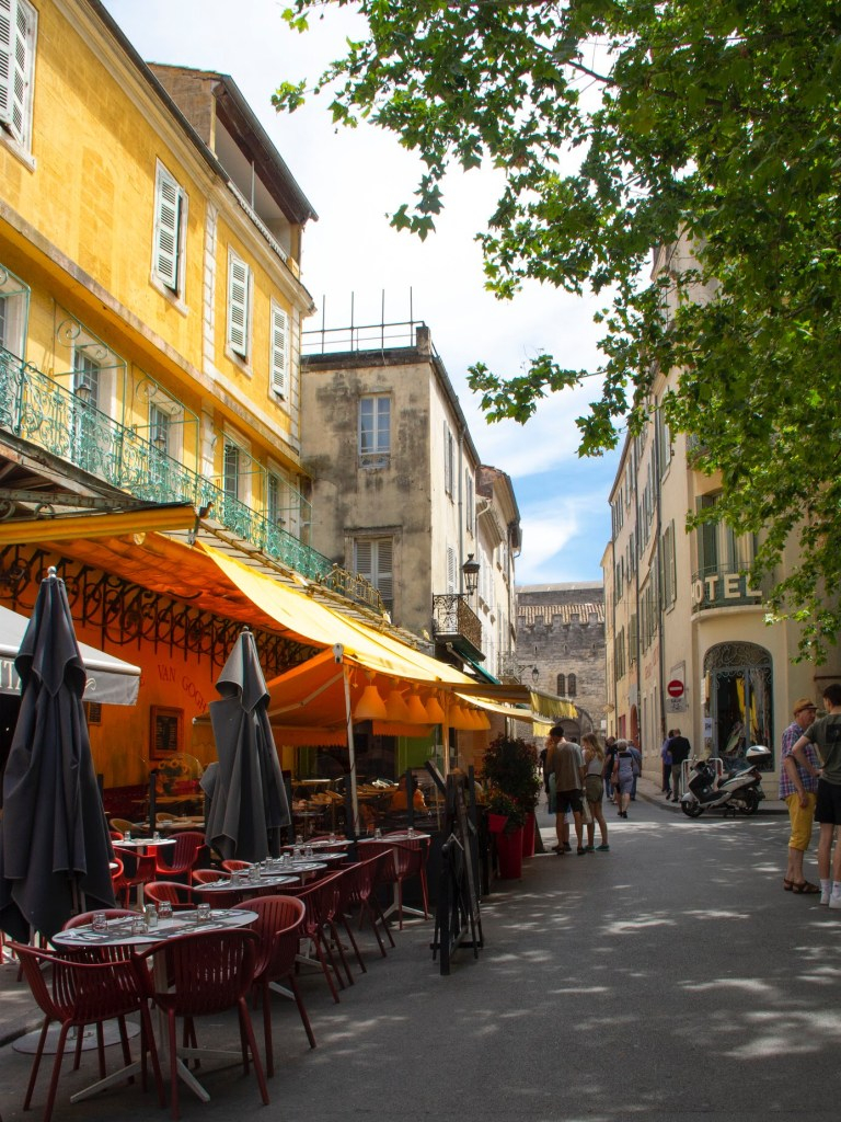 best places in south of france Place du Forum in Arles
